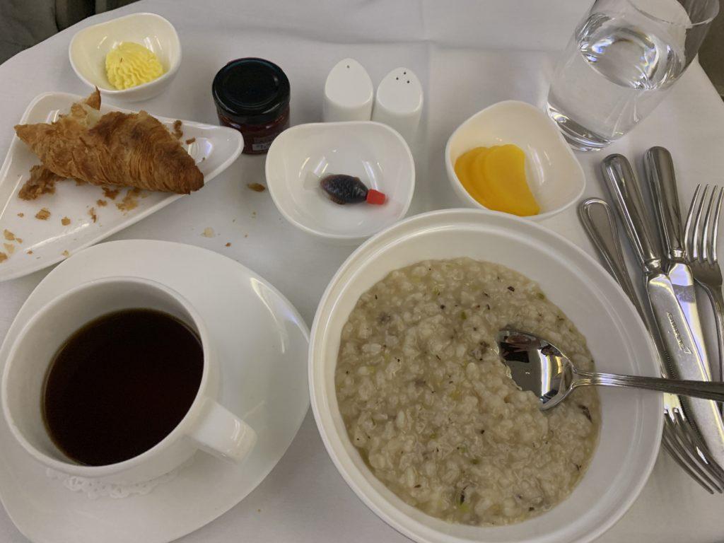 ASIANAビジネスクラス機内食