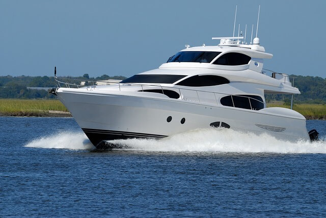 luxury yacht, boat, speed
