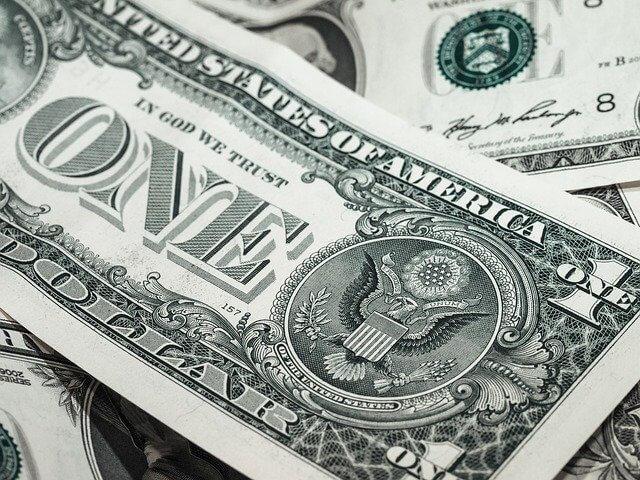 bank note, dollar, usd